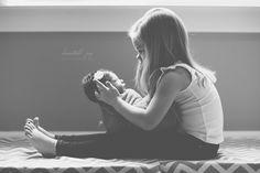 Kristal joy photography newborn and sister, sibling
