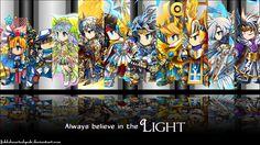Brave Frontier light units