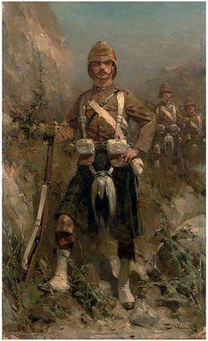 British Seaforth Highlander - Second Boer War