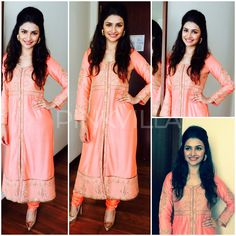 Yay or Nay : Prachi Desai in Anita Dongre