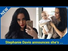 Stephanie Davis announces she's returning to TV for first time since Celebrity Big Brother Stephanie Davis has revealed she is coming back to TV after having a year away from the screens The former Hollyoaks actress tweeted shes getting back to work after a tumultuous year  Steph has had a lo...