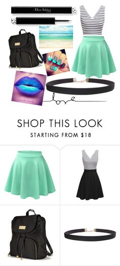 """B_E_A_C_H ĎŸ"" by bowkam on Polyvore featuring LE3NO, Victoria's Secret, Humble Chic and Marmont Hill"