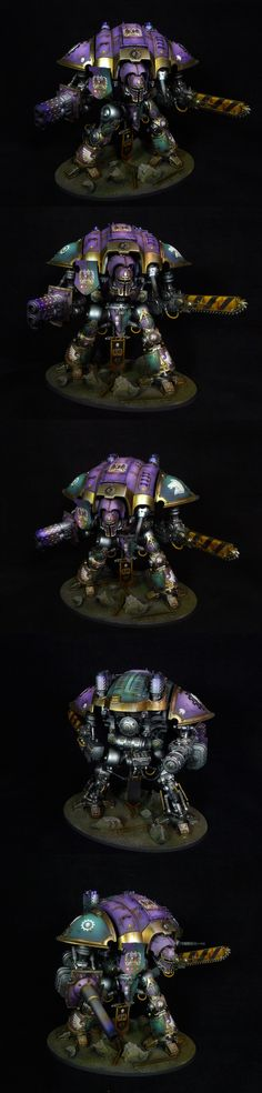 Imperial Knight (purple-green)