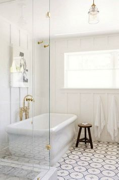Bathroom Floor Patte