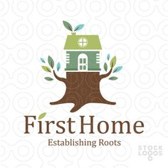 First Home Tree Trunk | StockLogos.com                                                                                                                                                                                 More