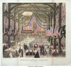 Brooklyn Sanitary Fair, 1864, Knickerbocker Hall, poster | James W. Bollinger Collection | Iowa Digital Library