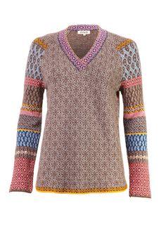 Pullover, V-Neck - Pullover   Ivko Woman