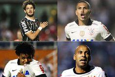 Sport Club Corinthians Paulista - Pato, Guerrero, Romarinho e Emerson Sheik