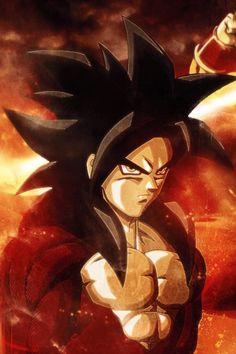 GOKU SS4 #dragonball #anime #goku like a boss boy.