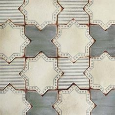 Corteo 3 is a luxury terracotta tile from our collection of artisan tiles inspired by the Palio festival.