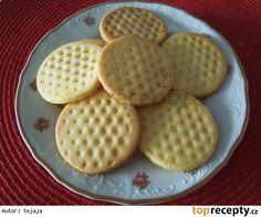 ten je v receptu opomenutý Cookie Recipes, Dessert Recipes, Desserts, My Favorite Food, Favorite Recipes, High Sugar, Croatian Recipes, Crinkles, Christmas Cookies