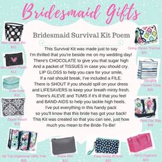 Thirty-One Bridesmaid Gifts Www.mythirtyone.com/1838294 Facebook: m.facebook.com/...