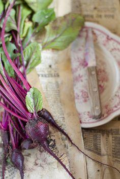 fresh beets…so pretty