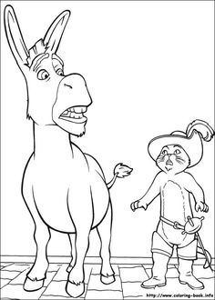 Shrek Coloring Pages Shrek Party Pinterest Shrek Craft and