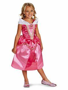 Ponce Aurora Sparkle Costume Girls Pink Princess Dress Kids S M * For more information, visit image link. Fancy Costumes, Toddler Costumes, Halloween Costumes For Girls, Halloween Fancy Dress, Girl Costumes, Costume Parties, Disney Costumes, Children Costumes, Girl Halloween