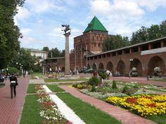 Nizhny Novgorod Kremlin, Nizhny Novgorod, Russia #travel #russia #castles
