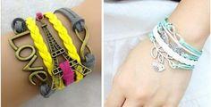 Braided Charm Bracelet | toAdorn.com #charm #bracelet #toadorn