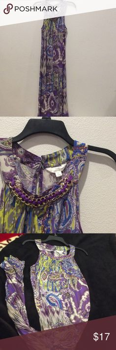 Paisley maxi dress Brand new with out tag Dresses Maxi