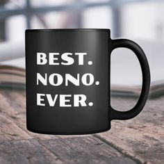 Nono Gift Mug Fathers Day Present Best Ever Grandfather Grandpa Coffee Cup Birthday Christmas