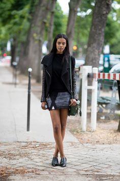 Grace Mahary - The Cut- Paris Street Style