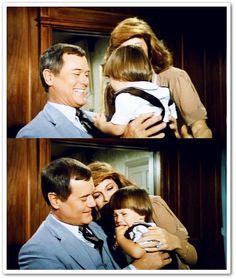 DALLAS  JR,Sue Ellen and little John Ross Ewing