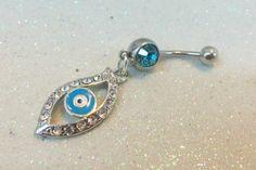 #YOUniqueDZignsArtfire on Artfire                   #ring                     #Evil #belly #ring, #bellybutton #ring #evil #rhinestones #14ga               Evil eye belly ring, bellybutton ring w evil eye and rhinestones 14ga                                   http://www.seapai.com/product.aspx?PID=680637