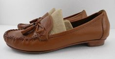 Cole Haan Womens 6.5 Tan Tassel Loafers Moccasins Shoes Womens Classic #ColeHaan #LoafersMoccasins #Casual