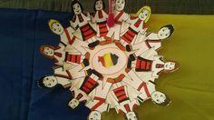 1 Decembrie, Romania, Ronald Mcdonald, Printables, Traditional, School, Artwork, Fictional Characters, Work Of Art