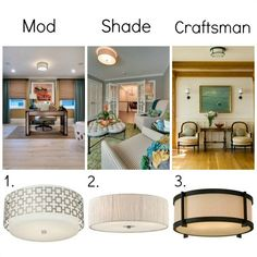 Modern Flush Mount Ceiling Lights from Lamps Plus