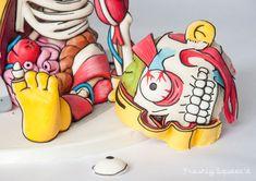 Pastel de Rafa Gorgory (The Simpsons) de la agencia Freshly Squeez'd.