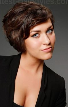 short easy hairstyles for wavy hair - Google Search