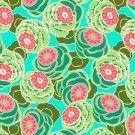Dream weaver - Clouded floral Sea Glass  SUR COMMANDE DELAI 3/4 SEMAINES