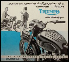 All sizes | 1951 Triumph Finer points | Flickr - Photo Sharing!