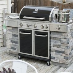 Add panels to your existing grill to give it a custom, built-in look. This DIY project is fairly simple and can save you a ton of money!