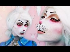 White Rabbit + Prosthetic MAKEUP TUTORIAL | Anaïs Marion - YouTube