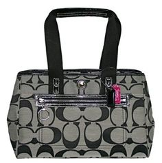 One of my Coach purses...  My first one.  Great versatile purse!