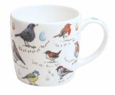 Madeleine Floyd – Birdsong Mug Anna Wright, We Are The Ones, Mixed Media Collage, Mug Shots, Coffee Mugs, Birds, Ceramics, Tableware, Blog