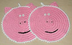 Ravelry: Pig Potholder or Towel Topper Pattern pattern by Sandi Marshall
