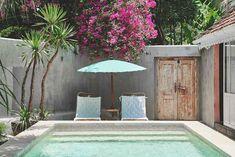 my scandinavian home: The pool at Pandan house, a romantic hide-away in Bali