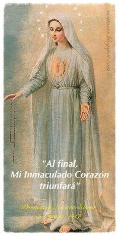 22 de Agosto, el Inmaculado Corazón de María.