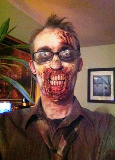 Zombie Dentures - Tutorial on how to make them.  Custom zombie dentures with Non-SFX materials