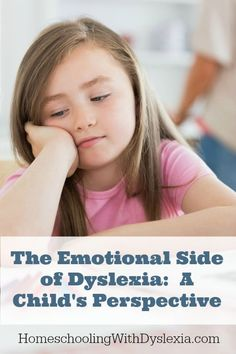 The day-to-day difficulties of being dyslexic can cause certain emotional issues for families who have kids with dyslexia. Teaching Tips, Teaching Reading, Parenting Humor, Parenting Tips, Dysgraphia, Learning Styles, Learning Disabilities, Special Education, Life Skills