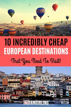 10 cheap Europe destinations that need to be on your bucket list including budget travel tips and costs! : 10 cheap Europe destinations that need to be on your bucket list including budget travel tips and costs! Europe Destinations, Cheap European Destinations, Travel Europe Cheap, Europe On A Budget, Budget Travel, Traveling Europe, Europe Packing, Travelling Tips, Packing Tips