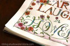 Earth Laughs in Flowers -  Studio Waterstone