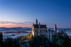 Schloss Neuschwanenstein Foto: Lightning Man