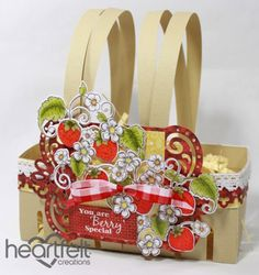 Heartfelt Creations | Berry Special Basket
