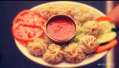 Nepali Momo. I love momos!!