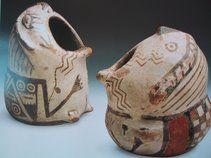 Cerámica diaguita (IV Región) con influencia de la cultura inca.