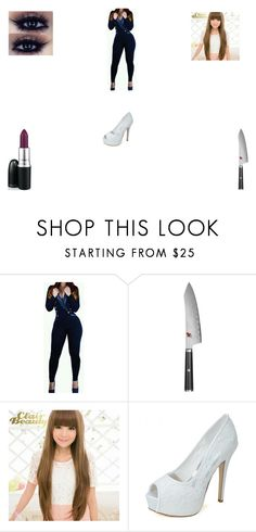 """""""Killer babe (RP set :D )"""" by funny-babe02 on Polyvore featuring Miyabi, Clair Beauty and MAC Cosmetics"""