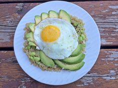 Sunny Side Up Edamame & Parm Quinoa for Dinner! Check out the recipe on www.chelseacrescent.ca  #sunnysideup #parm #edamame #quinoa #eggs #healthy #healthyliving #cleaneating #green #dinner #breakfast #instafood #yum #cleaneats Edamame, Avocado Toast, Quinoa, Healthy Living, Clean Eating, Eggs, Dinner, Breakfast, Check